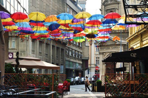 Улица Принца Михаила в Белграде