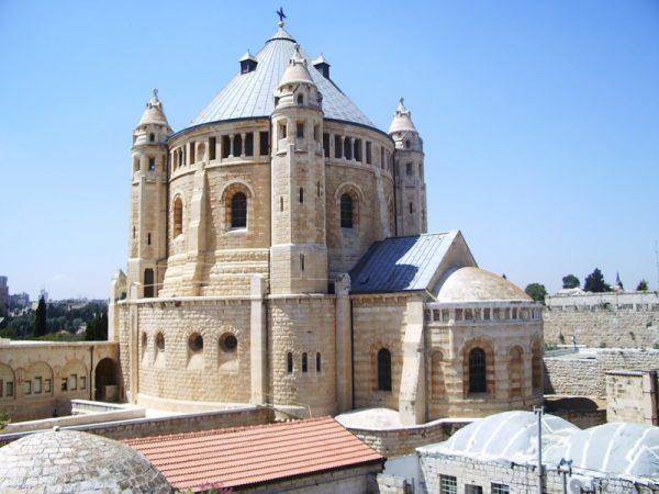 Успенский бенедиктинский монастырь на горе Сион