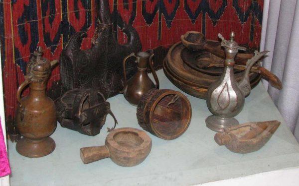 Экспозиция Историко-краеведческого музея в городе Ош