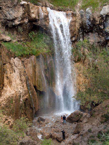 Большой Арсланбобский водопад