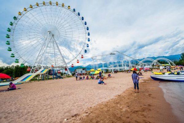 Пляжи Чолпон-Аты