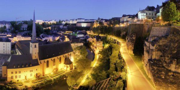 Вечерний Люксембург