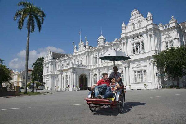 Велорикша в Пенанге
