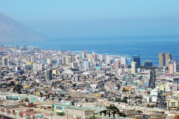 Вид на Антофагасту в Чили