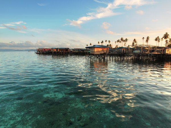 Вид на Борнео со стороны Малайзии