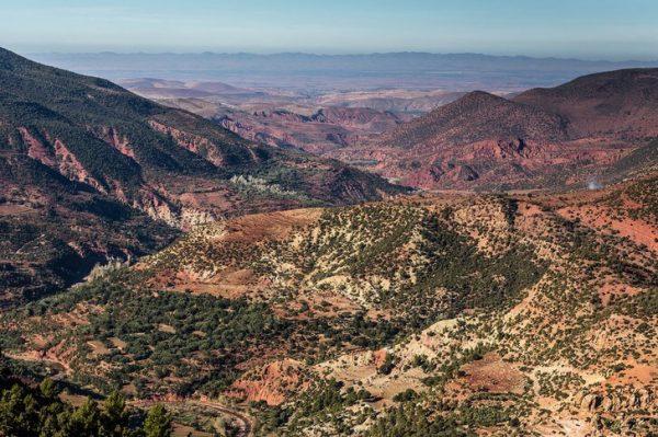 Вид на горы Атлас
