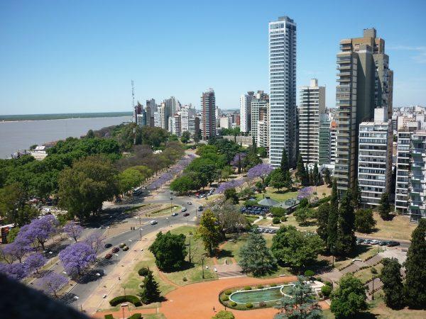 Вид на город Росарио