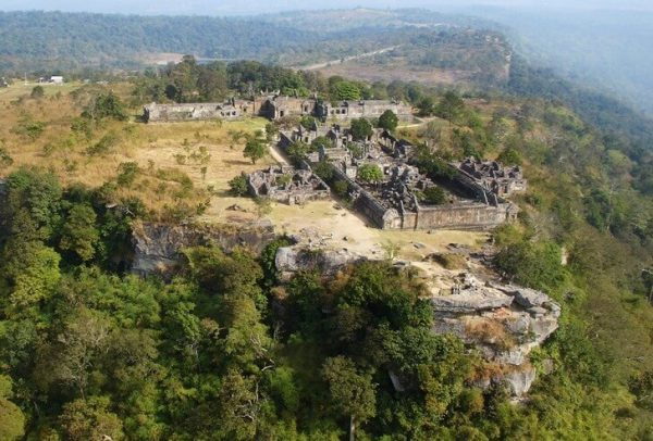 Вид на комплекс Прэахвихеа