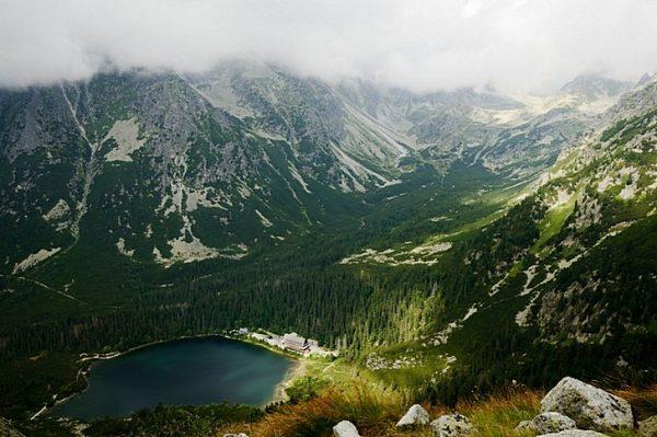 Вид на Национальный парк Татры