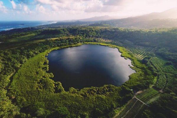 Вид на озеро Антуан