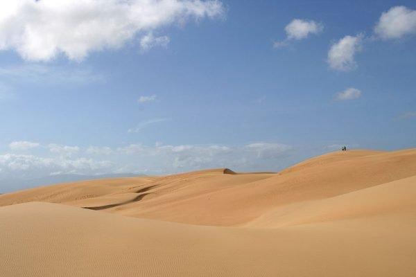 Вид на пустыню в национальном парке Меданос