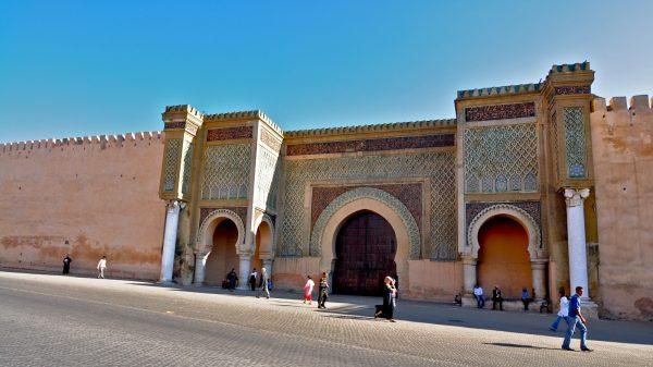 Ворота Баб аль-Мансур в Мекнесе