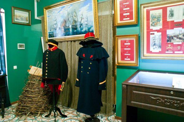 Выставочный зал в Музее истории Балаклавы
