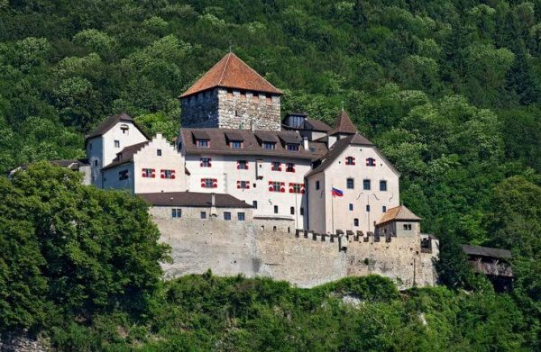 Замок Вадуц в Лихтенштейне