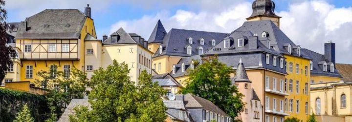 Здания города Люксенбурга