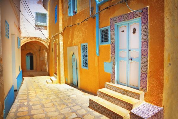 Улица в старой части города Сусса