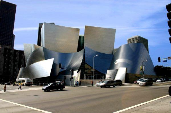 Здания Walt Disney в Лос-Анджелесе