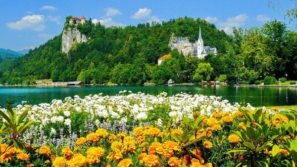 Весна в Словении