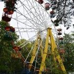 Колесо обозрения в парке Челюскинцев