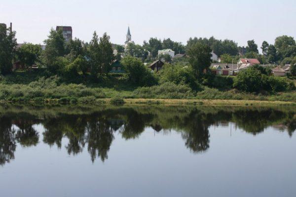 Берег Западной Двины возле Полоцка