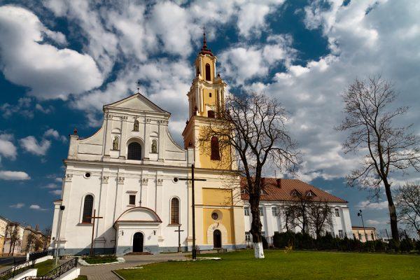 Костёл Обретения Святого Креста и монастырь бернардинцев