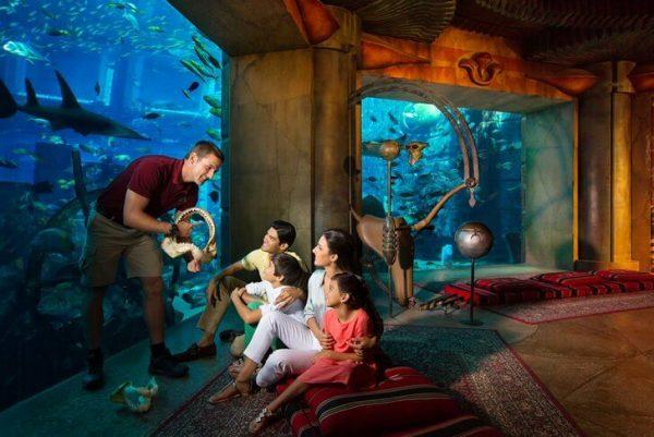 Аквариум «Лост Чамберс» в Дубае