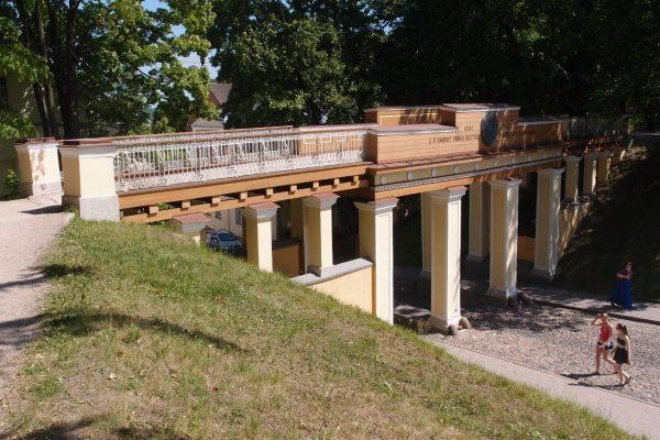 Ангельский мост Инглисильд в Тарту