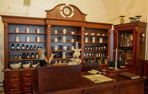 Аптека-музей в Фарном костёле