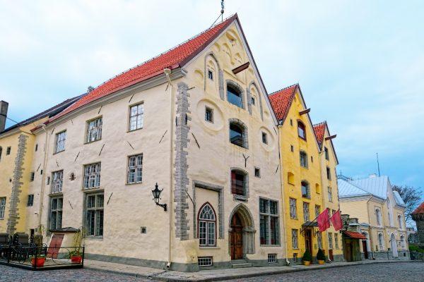 Архитектурный ансамбль «Три сестры» в Таллине