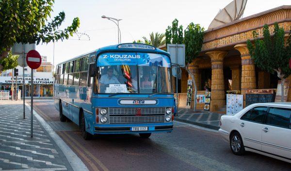 Автобус в Ларнаке
