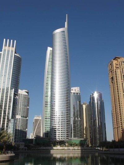 Башня Алмас в Дубае