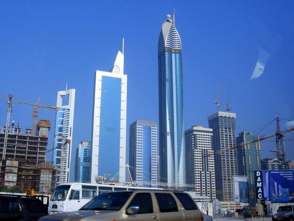 Башня Розы в Дубае