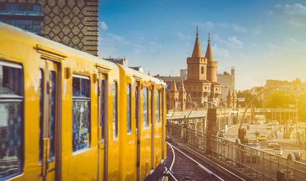 Поезд в Берлине