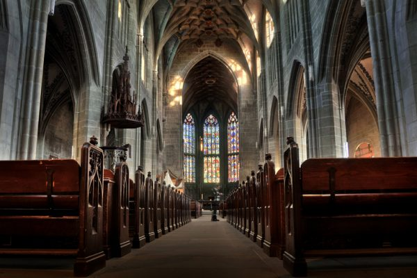 Бернский кафедральный собор изнутри