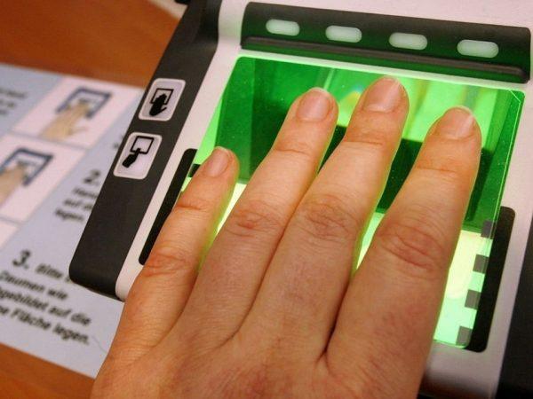 Биометрия на визу