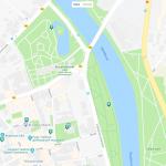 Ботсад на карте Тарту