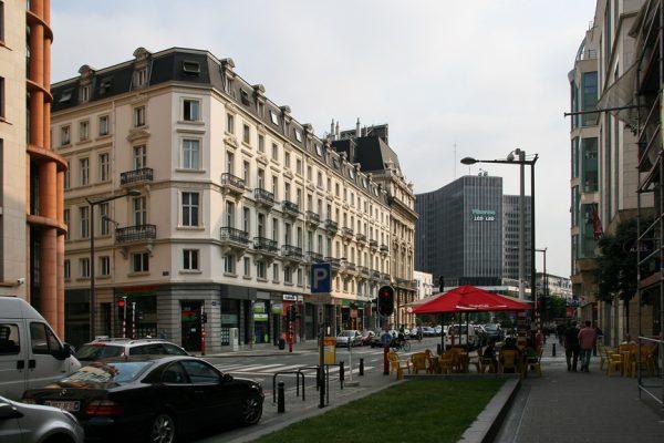 Одна из улиц Брюсселя