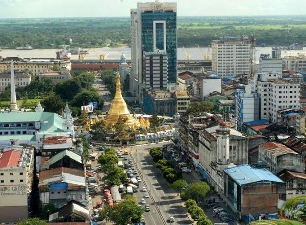 Центр Янгона
