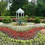 Центральная композиция в Ботаническом саду