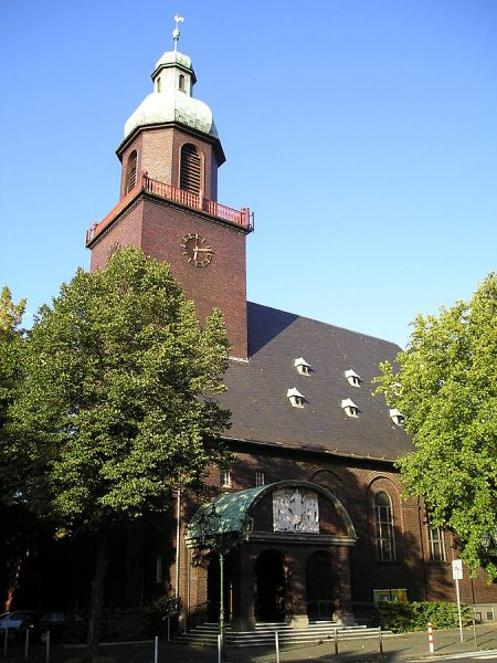 Церковь Благодарения в Дюссельдорфе