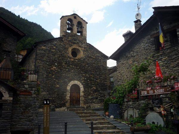 Церковь Сант Серни де Ллортс