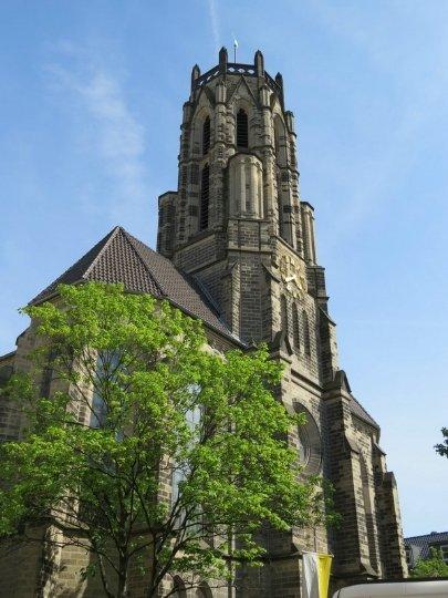 Церковь Святой Троицы в Дюссельдорфе