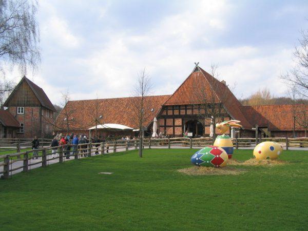 Детская зона в зоопарке Ганновера