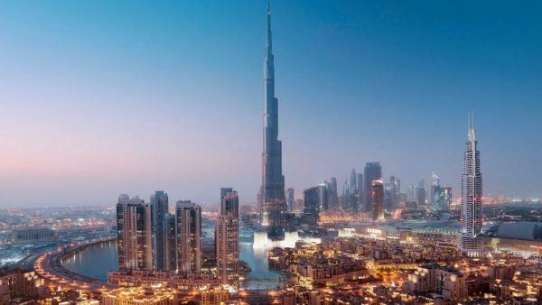 Вид на Дубай в ОАЭ