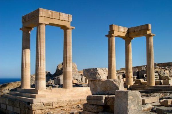 Разрушенный храм Афродиты в Пафосе