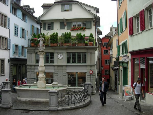 Цюрих, Старый город