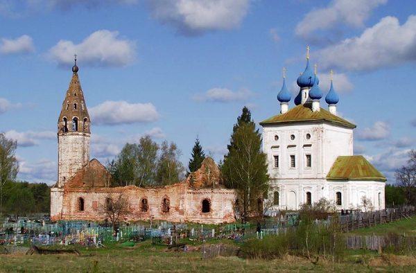 Храмовый ансамбль Николо-погост