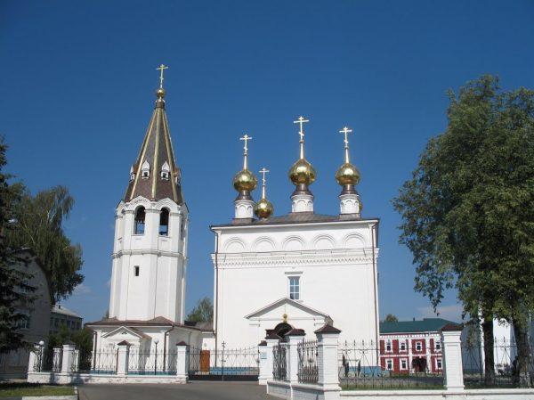 Фёдоровский монастырь в Городце