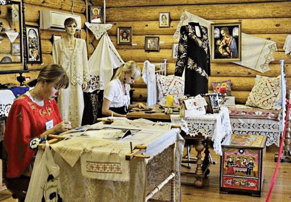 Мастер-класс по вышивке в Городе мастеров в Городце