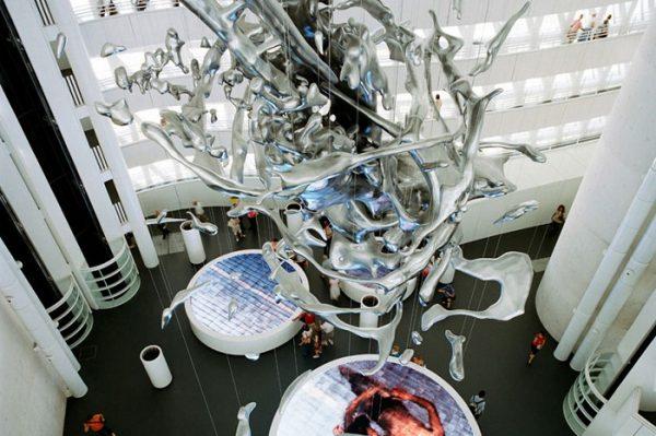 Инсталляция в Башне воды в Сарагосе